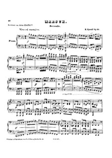 March for Piano Four Hands, Op.21: March for Piano Four Hands by Halfdan Kjerulf