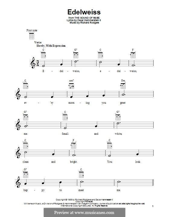 Nice Guitar Chords Edelweiss Crest - Beginner Guitar Piano Chords ...