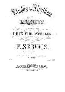 Etudes de Rhythme: Etudes de Rhythme by Lambert Joseph Meerts