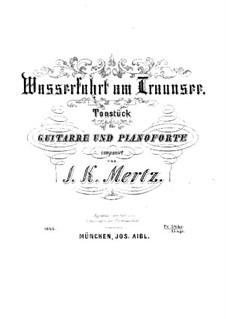 Wasserfahrt am Traunsee: Für Gitarre und Klavier by Johann Kaspar Mertz