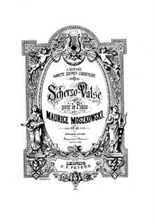 Scherzo-Waltz, Op.40: Scherzo-Waltz by Moritz Moszkowski