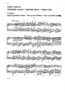School of Scales and Double Notes, Op.64: Book IV (Four extended studies) by Moritz Moszkowski