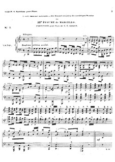Psalms: Psaume No.18, for piano by Benedetto Marcello