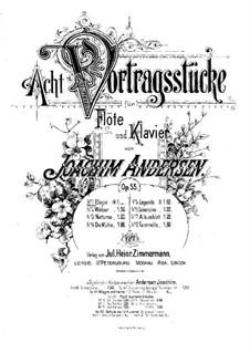 Eight Performer Pieces, Op.55: No.1 Elegy by Joachim Andersen