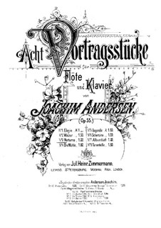 Eight Performer Pieces, Op.55: No.3 Nocturne by Joachim Andersen