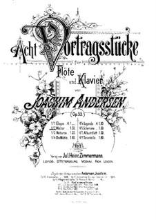 Eight Performer Pieces, Op.55: No.2 Waltz by Joachim Andersen