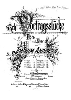 Eight Performer Pieces, Op.55: No.4 The Mill by Joachim Andersen