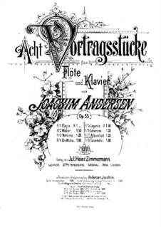 Eight Performer Pieces, Op.55: No.7 Album Leave by Joachim Andersen