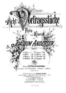Eight Performer Pieces, Op.55: No.8 Tarantella by Joachim Andersen
