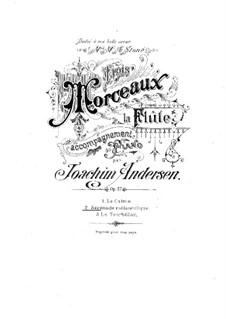 Three Pieces for Flute and Piano, Op.57: No.2 Sérénade mélancolique by Joachim Andersen