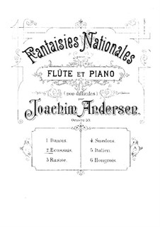National Fantasias, Op.59: No.2 Ecossais by Joachim Andersen
