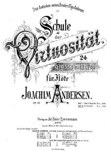 School of Virtuosity, Op.60: Book II by Joachim Andersen