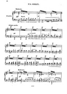 Raphael, Op.37: No.5 Finale, for piano by Anton Arensky