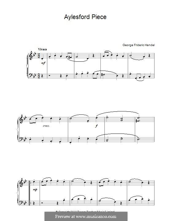 Aylesford Pieces: Impertinence by Georg Friedrich Händel