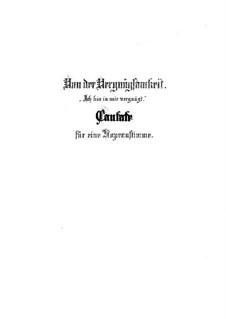 Ich bin in mir vergnügt, BWV 204: Ich bin in mir vergnügt by Johann Sebastian Bach