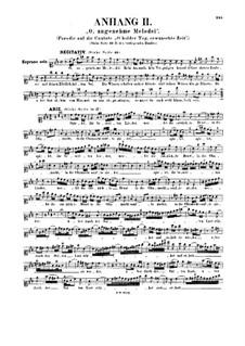 O holder Tag, erwünschte Zeit, BWV 210: Supplement II by Johann Sebastian Bach