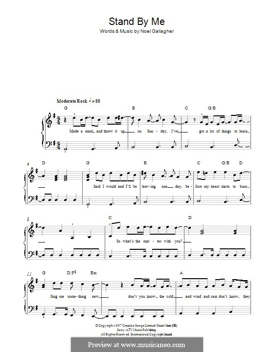 stand by me lead sheet pdf