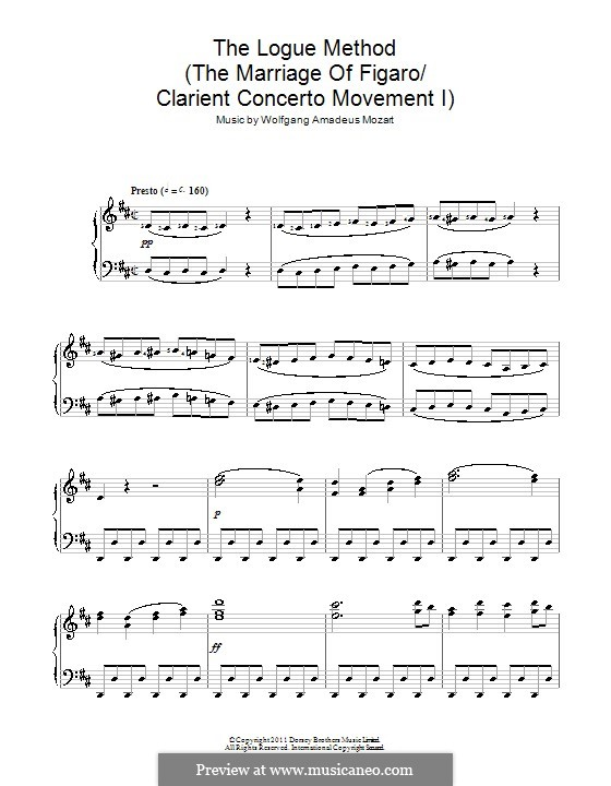 Overture: For piano by Wolfgang Amadeus Mozart