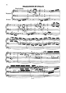 Prelude and Fugue No.2 in D Major, BWV 532: For organ by Johann Sebastian Bach