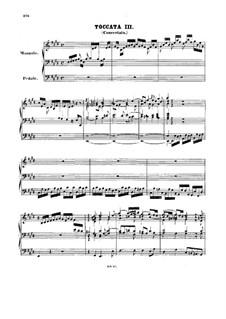 Toccata and Fugue in E Major, BWV 566: For organ by Johann Sebastian Bach