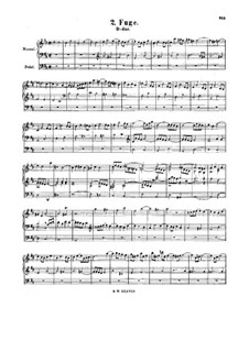 Fugue in D Major, BWV 580: Fugue in D Major by Johann Sebastian Bach