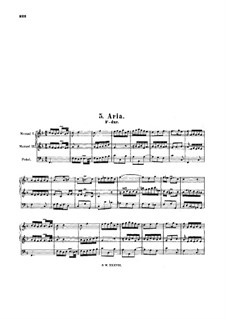 Aria in F Major, BWV 587: Aria in F Major by Johann Sebastian Bach