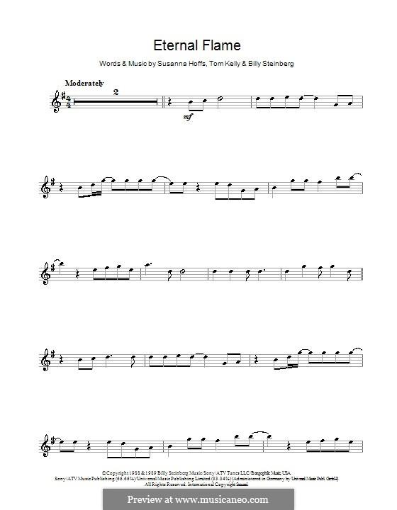 Eternal Flame: For violin by Billy Steinberg, Susanna Hoffs, Tom Kelly