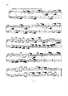 Chorale Preludes IV (German Organ Mass): Credo. Fughetta super: Wir glauben all' an einen Gott. Small Version, BWV 681 by Johann Sebastian Bach