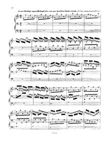 Chorale Preludes IV (German Organ Mass): Communion. Jesus Christus unser Heiland. Large Version, BWV 688 by Johann Sebastian Bach