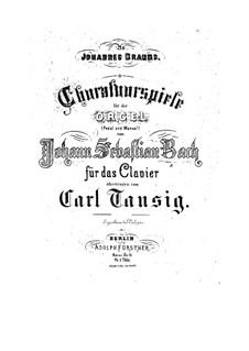 Chorale Preludes IV (German Organ Mass): Credo. Wir glauben all' an einen Gott. Large Version, BWV 680 by Johann Sebastian Bach