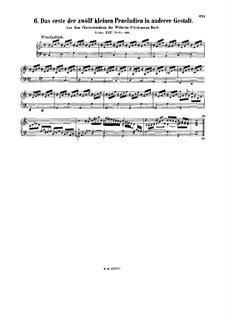 Little Prelude in C Major, BWV 924a: Little Prelude in C Major by Johann Sebastian Bach