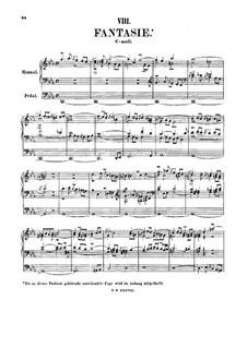 Fantasia and Fugue in C Minor, BWV 562: Fantasia by Johann Sebastian Bach