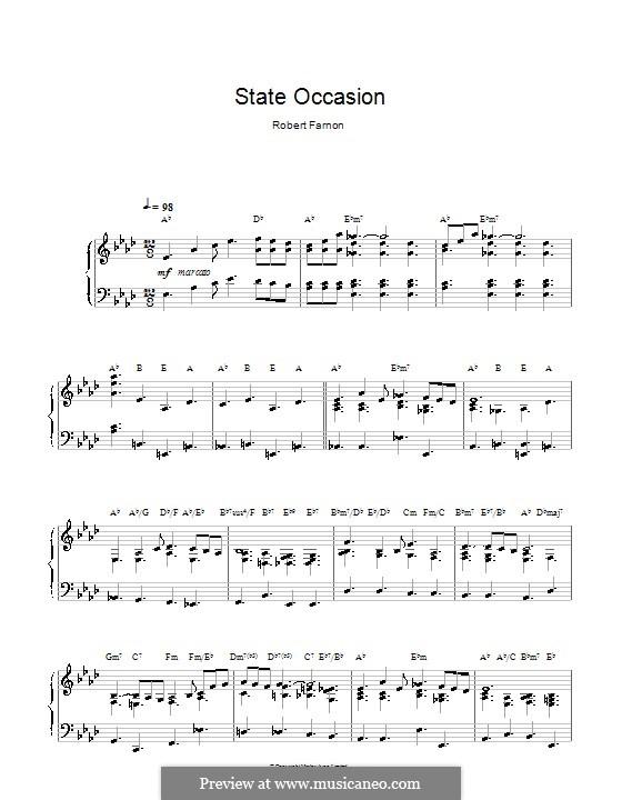 State Occasion: For piano by Robert Farnon