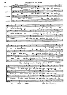 The First Set of English Madrigales: Part II, for four voices by Thomas Bateson