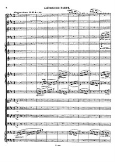 Cantata 'Calm Sea and Prosperous Voyage', Op.112: Prosperous Voyage by Ludwig van Beethoven