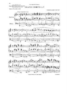 Grand Choir in C Major: Grand Choir in C Major by Alexis Chauvet