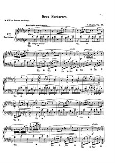 Nocturnes, Op.32: Complete set by Frédéric Chopin