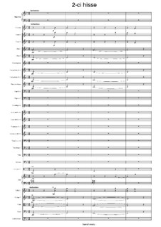 Concert in 3 parts for piano and symphony orchestra: Part II by Kamal Ahmadov