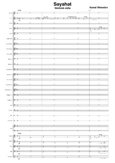 Symphonic suite for symphony orchestra: Symphonic suite for symphony orchestra by Kamal Ahmadov