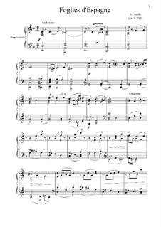 Sonata No.12 'La Folia': For harpsichord by Arcangelo Corelli
