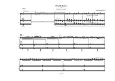 Invisible Shadows (2008) for violin and piano: Invisible Shadows (2008) for violin and piano by Spiros Deligiannopoulos