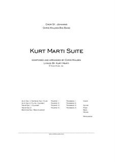 Kurt Marti Suite: Kurt Marti Suite by Chris Walden