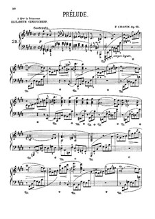 Prelude in C Sharp Minor, Op.45: For piano by Frédéric Chopin