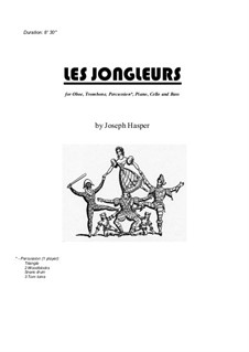 Les Jongleurs (sextet): Les Jongleurs (sextet) by Joseph Hasper