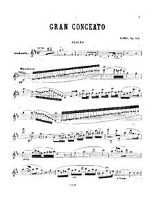 Flute Concerto in D Major, Op.129: Solo part by Cesare Ciardi