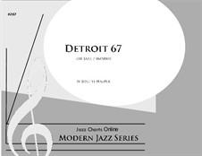 Detroit 67 (big band): Detroit 67 (big band) by Joseph Hasper
