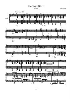 Fantasie No.1: Fantasie No.1 by Irminsul Harp
