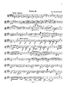 String Sextet in E Major, Op.35: Viola II part by Karl Julevich Davydov