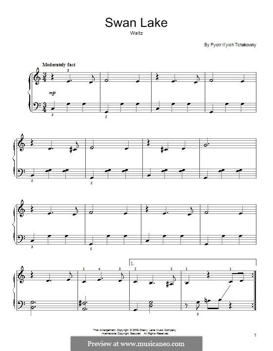 No.2 Waltz: For piano by Pyotr Tchaikovsky