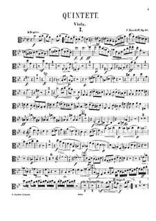 Piano Quintet in G Minor, Op.40: Viola part by Karl Julevich Davydov